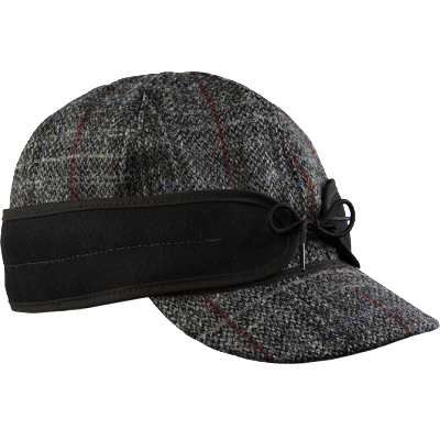 Stormy Kromer Harris Tweed